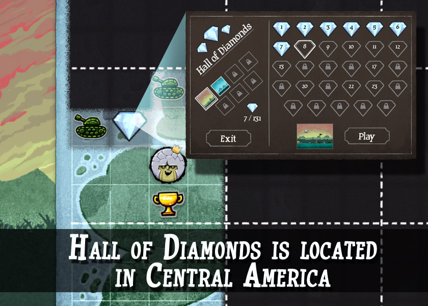 Hall of Diamonds location